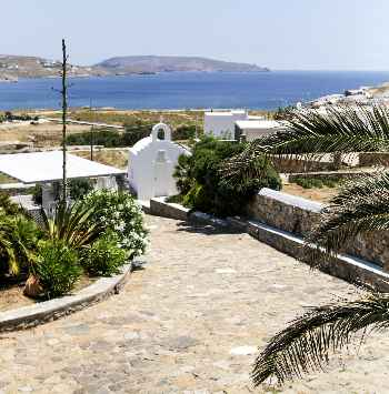 'Suite Purity Mykonos, a master bedroom with en-suite bathroom 200m walking from Beach