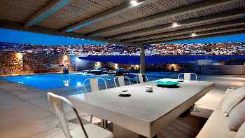 'Amazing Villa Diva Mykonos, luxurious villa with private pool in walking distance from the beach 3 Bedrooms, 3 Bathrooms Up to 8 Guests