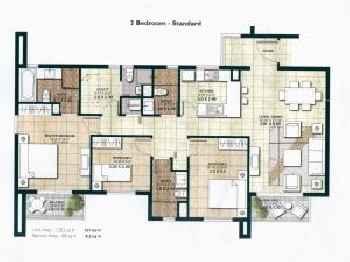 Three Bedroom Apartment - Centrium IMPZ