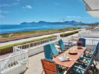 Five-Bedroom Holiday home Can Picafort with Sea View 01 220