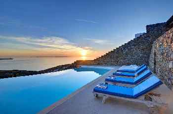 "FULLY FLEXIBLE POLICY! Manu Mykonos ""A GLAMOROUS VILLA"" 6 Bedrooms 7 Bathrooms Villa, Large Private Pool, up to 14 Guests"