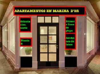 APARTAMENTOS 1 LINEA URB.MARINA DOR 201