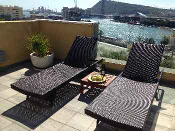 Luxury Aircon Beach Apt Barcelona 32 nights plus