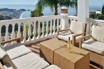 House with 4 bedrooms in Almunecar with wonderful sea view private pool furnished terrace 400 m from the beach 220