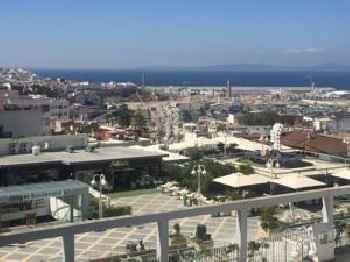 Apartment with one bedroom in Tanger, with wonderful sea view, balcony and WiFi - 2 km from the beach 201