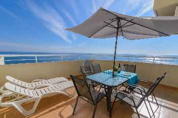 Benal Beach Resort 180° Seaview - First Line Beach 2BR Apartment  in  with Water park