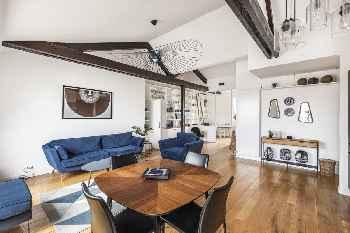 Appartement 90m² 2Ch cœur Marais bail mobilité