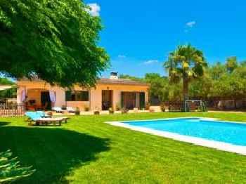 Villa Can Coll de Sencelles, Sa Vileta pool and views 213
