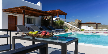 Ortus Ivory Mykonian Lux Villa with POOL!