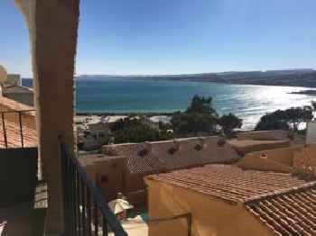 Punta Doncella sea view