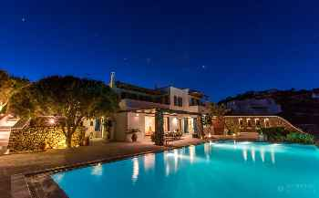 Panoramic view, Villa Abby Mykonos, 10 min from Mykonos Town, 5 Bedrooms 5 Bathrooms, Private Pool, up to 11 Guests