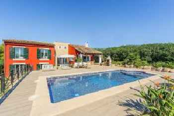 Huge Family Friendly Mallorca Villa With Pool 220