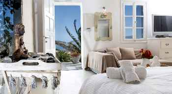 SKY MYKONOS AMAZING VILLA with 5 Bedrooms and 6 Bathrooms, Large Exclusive Pool, Next to the Beach UP TO 12 GUESTS.