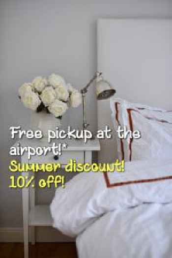 Central Stockholm with Free Airport Pickup