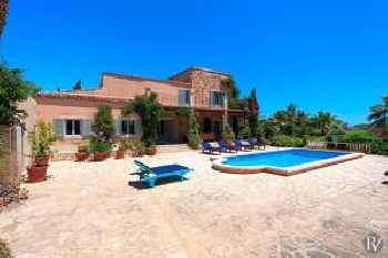 Cala Figuera Villa Sleeps 10 Pool Air Con WiFi 213