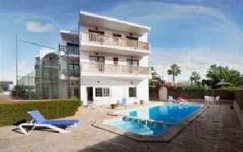 Familien Apartment für 6 Personen, Balkon, Pool, WLAN, Küche, 200m zum Meer - [#109508] 201