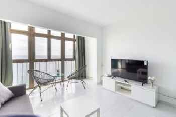 Wonderfull views over the sea in El Mirador I apartments 201