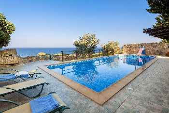 Hilltop Dream Views villa Lefkothea with Private Pool